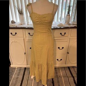 Wild Honey Yellow Maci Dress XS